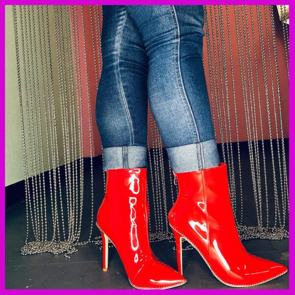 red vixen booties
